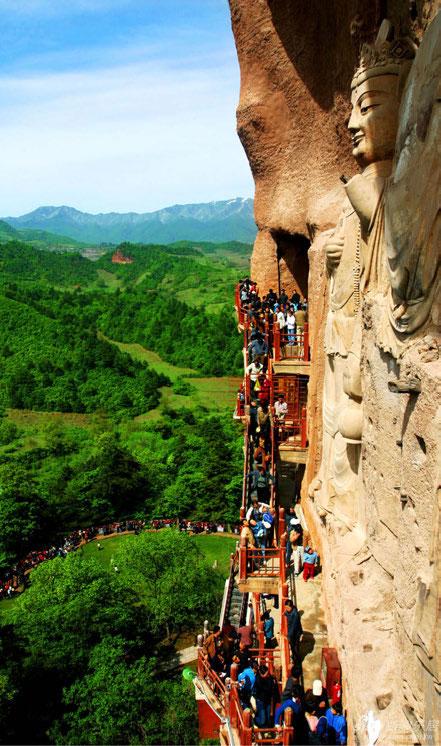 Cuevas de Maijishan.