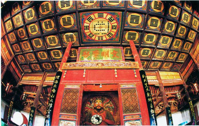 Templo Fuxi, Tianshui.