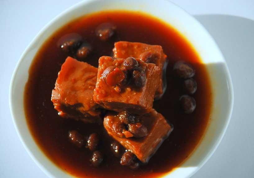 Tofu encurtido.