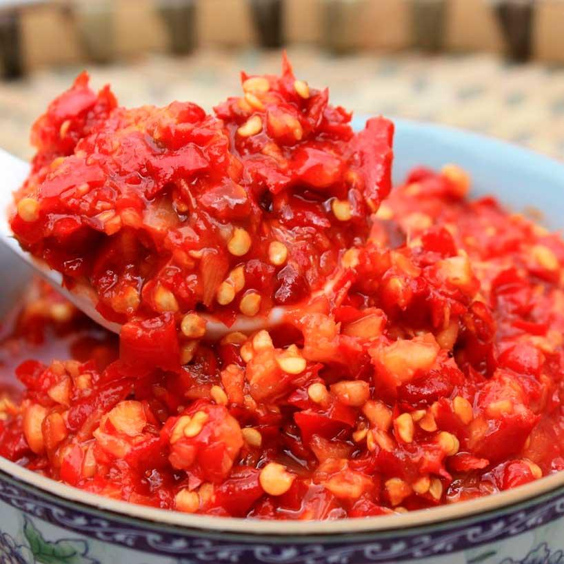 Salsa picante de Guilin.
