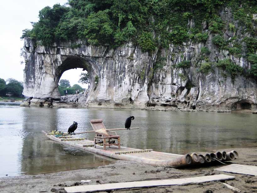 Colina de la Trompa del Elefante en Guilin.