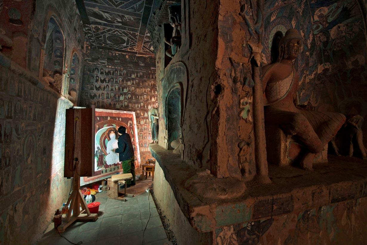 Los tesoros nacionales de Dunhuang