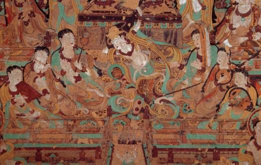 Murales de las Grutas de Mogao.