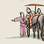 Tratar de dirigirse al sur con el carruaje orientado al norte (Nán yuán běi zhé)