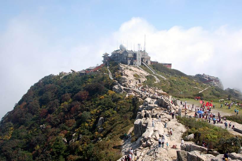 Montaña Taishan. Shandong