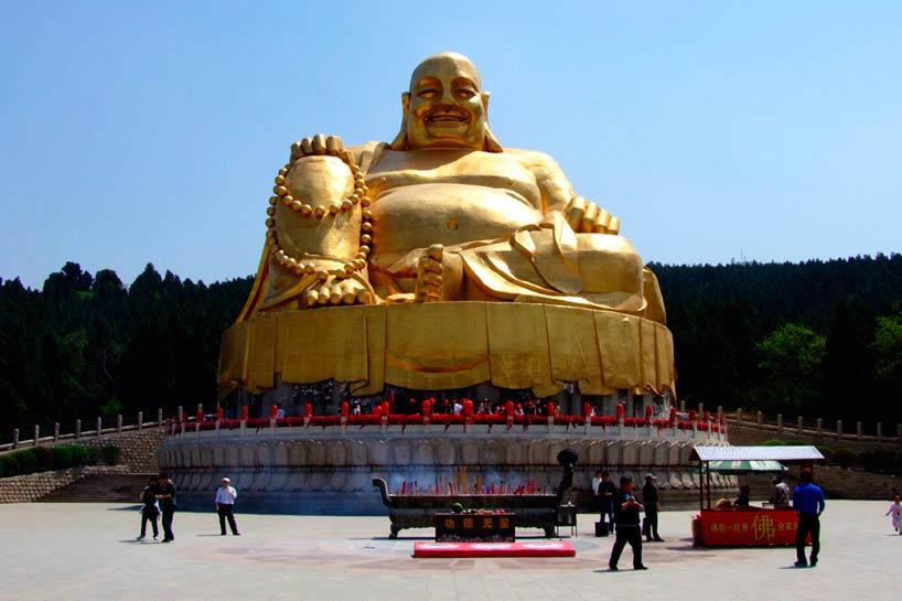 Montaña de los Mil Budas.