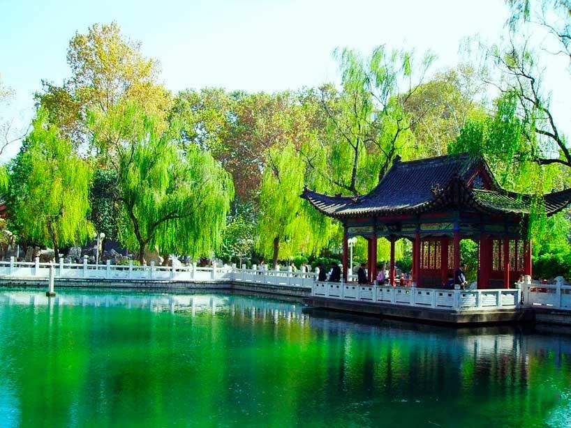 Manantiales de Jinan.