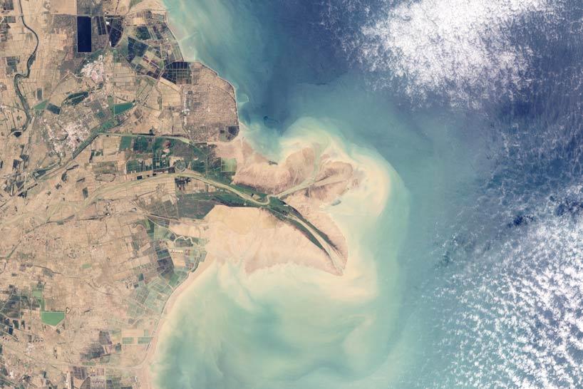 Delta del Rio Amarillo.