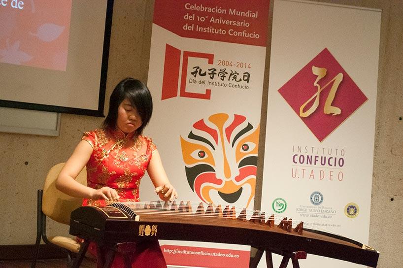 Celebración en el Instituto Confucio de la Universidad de Bogotá Jorge Tadeo Lozano