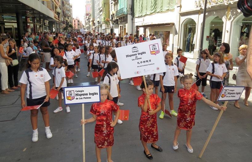 Celebración en el Instituto Confucio de Las Palmas de Gran Canaria