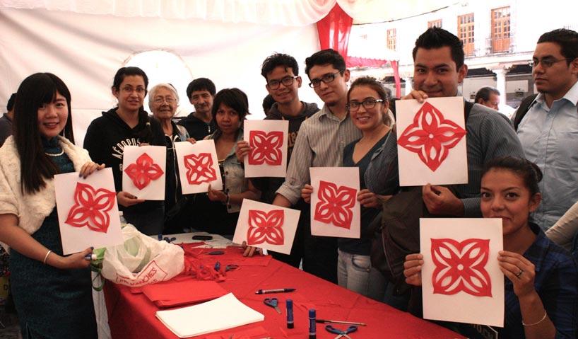 Celebración en el Instituto Confucio de la Universidad Nacional Autónoma de México