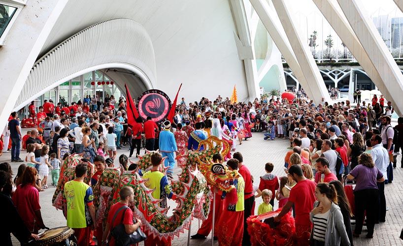 Celebración en el Instituto Confucio de la Universidad de Valencia