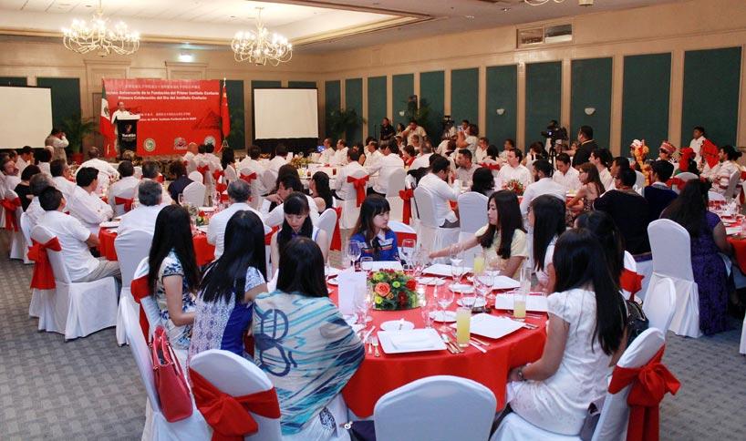 Celebración en el Instituto Confucio de la Universidad Autónoma de Yucatán