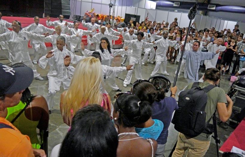 Celebración en el Instituto Confucio de la Universidad de La Habana