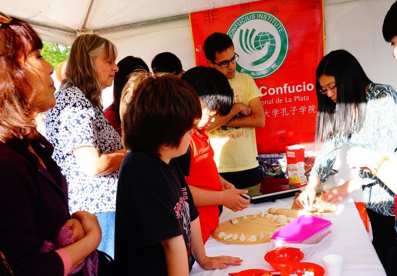 Celebración en el Instituto Confucio de la Universidad Nacional de la Plata