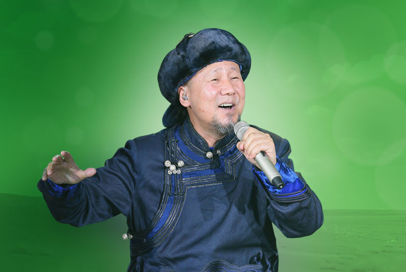 El músico chino de etnia mongol Tengger
