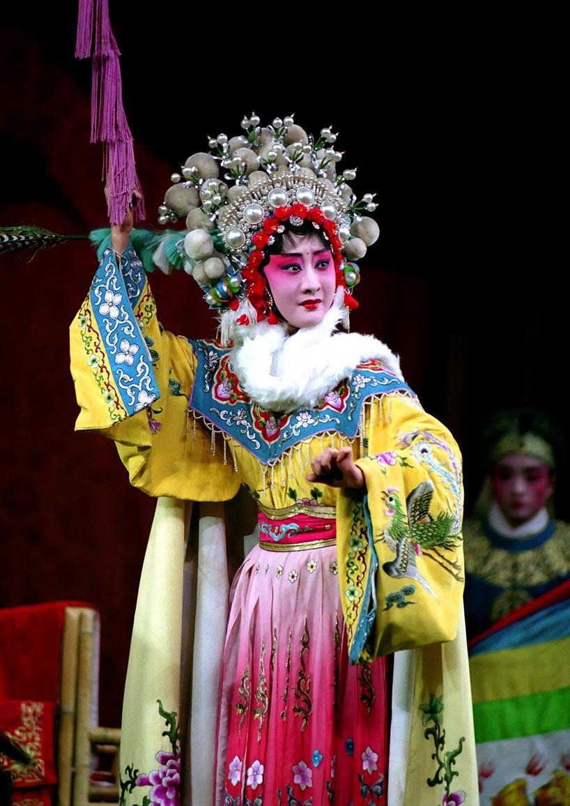 """戏曲片段《昭君出塞》,成都川剧院   Escena de la ópera """"Wang Zhaojun abandona su patria"""", Teatro de la Ópera de Sichuan en Chengdu"""