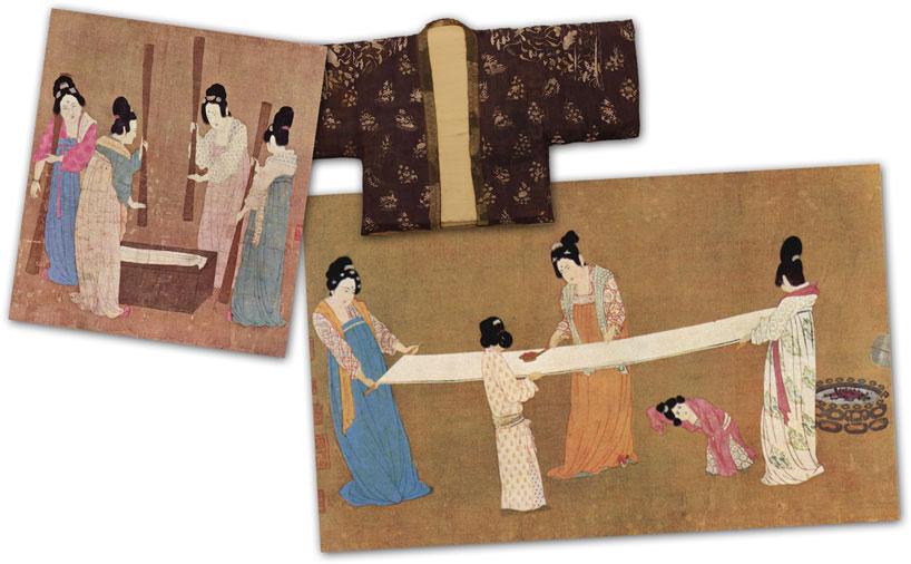 Seda. Inventos de la antigua china.
