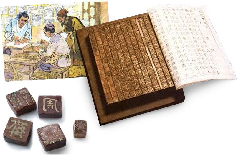 Imprenta. Inventos de la antigua china.