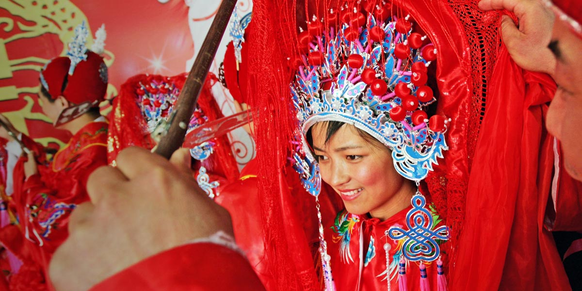 Los jóvenes chinos ante el matrimonio