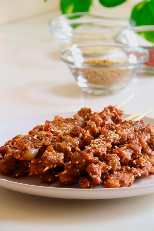 Cordero asado - El cordero en la cocina china