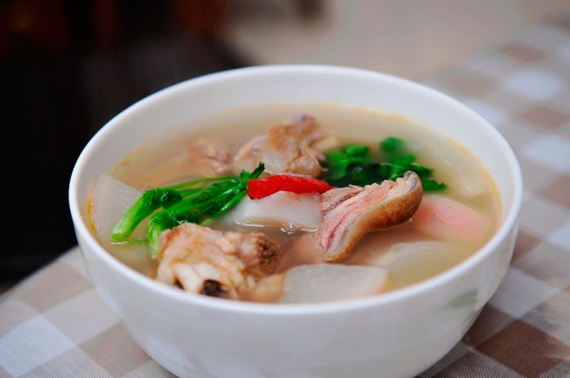 Sopa de cordero - El cordero en la cocina china- Arroz con cordero