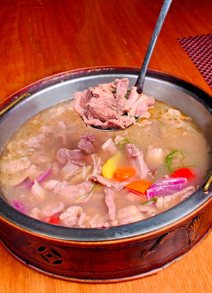Cordero hervido - El cordero en la cocina china- Arroz con cordero