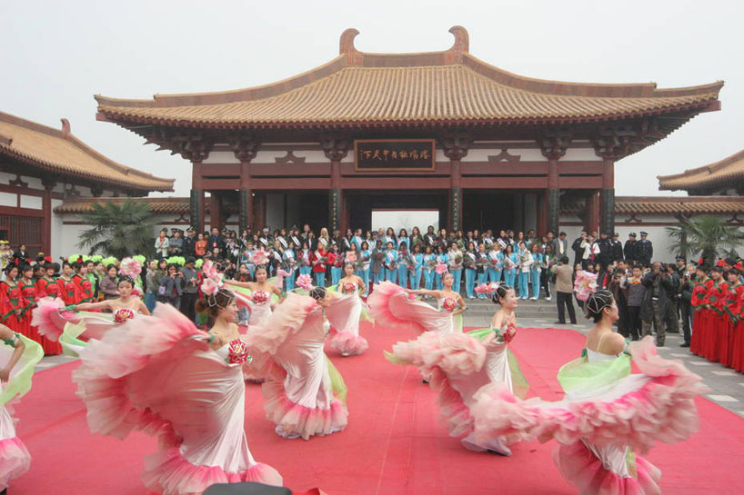 Festival de las peonías. Henan
