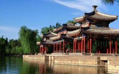 Pabellón Shuixin - La Residencia de Montaña de Chengde