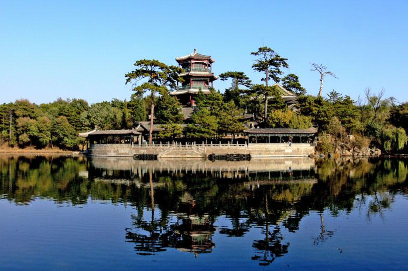 Puerta de Lizheng - La Residencia de Montaña de Chengde