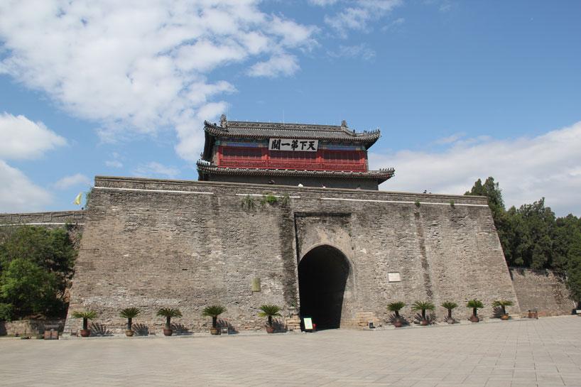 Paso de Shanhai. Hebei
