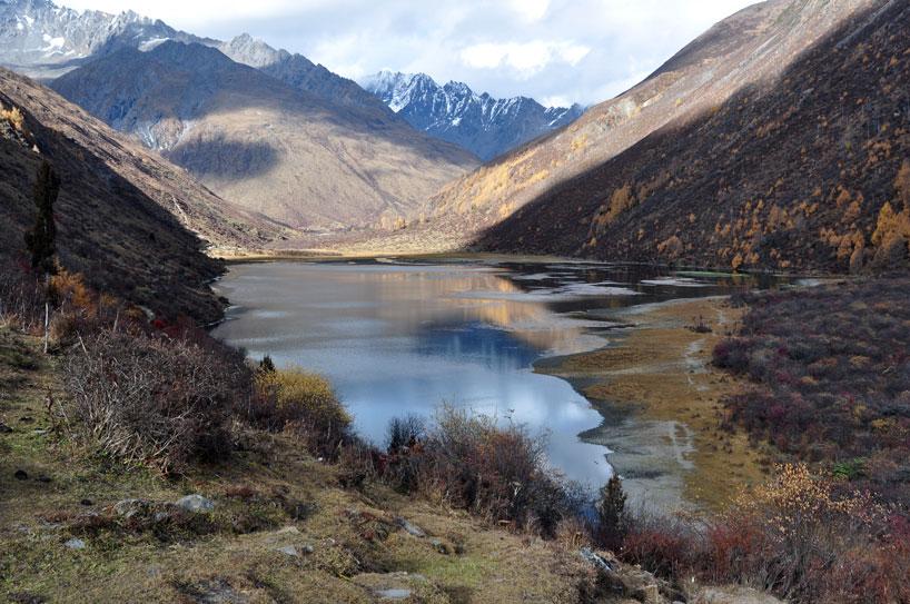 Lago Yansai. Hebei