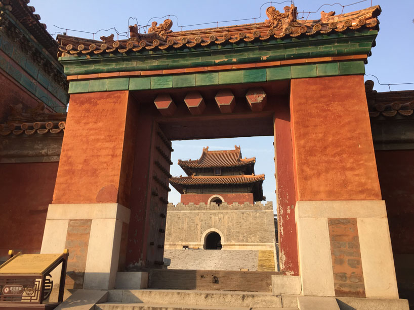Tumbas Imperiales Occidentales de la dinastía Qing. Hebei