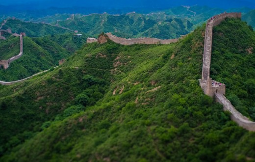 Gran Muralla China. Hebei