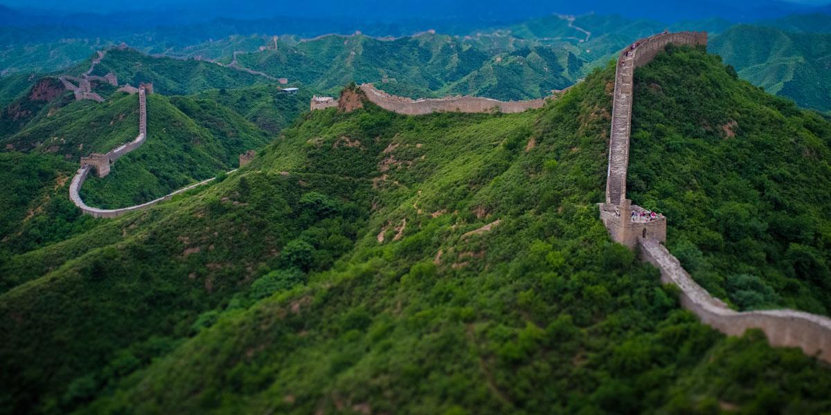 Gran Muralla China. Hebei