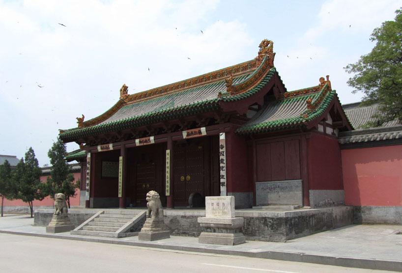 Monasterio Chongfu - Monte Wutai