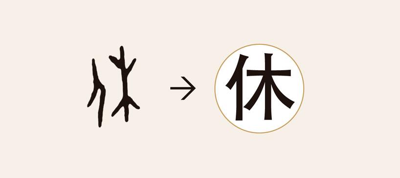 radical de árbol (木). Shuowen Jiezi