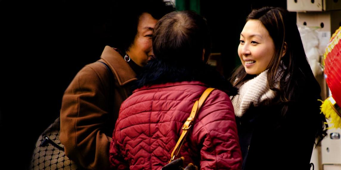 Las preguntas sobre cuestiones personales en China
