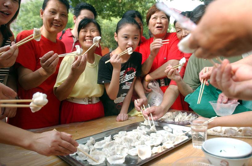 ravioles chinos