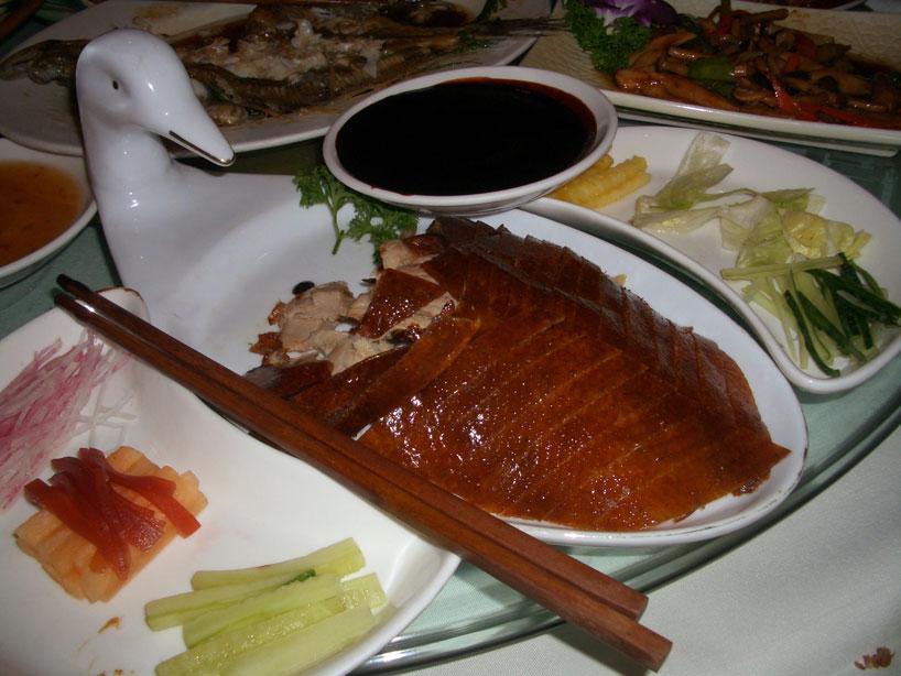 Pato laqueado de Beijing