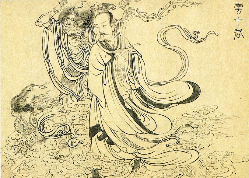 Técnicas de pincel - Técnica gōngbǐ acromática