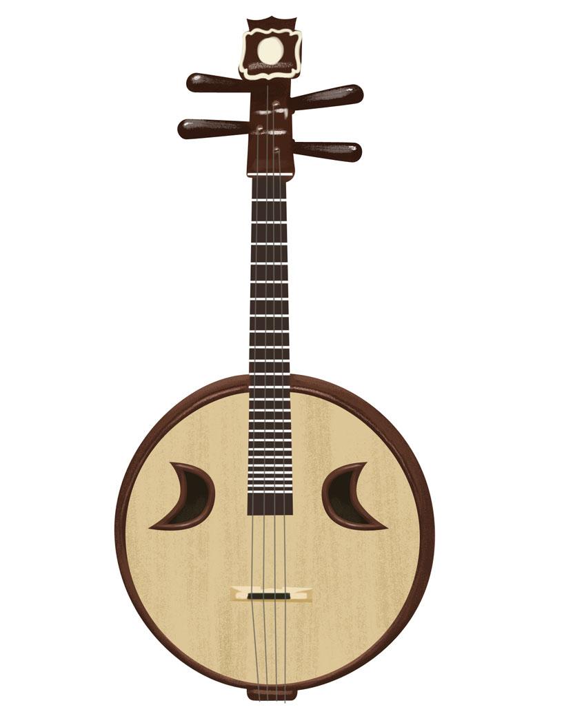 instrumentos musicales chino