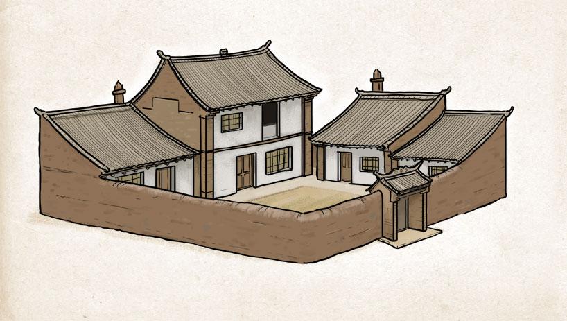las viviendas de Ningxia