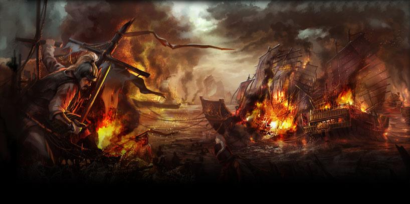 La legendaria batalla de los acantilados rojos