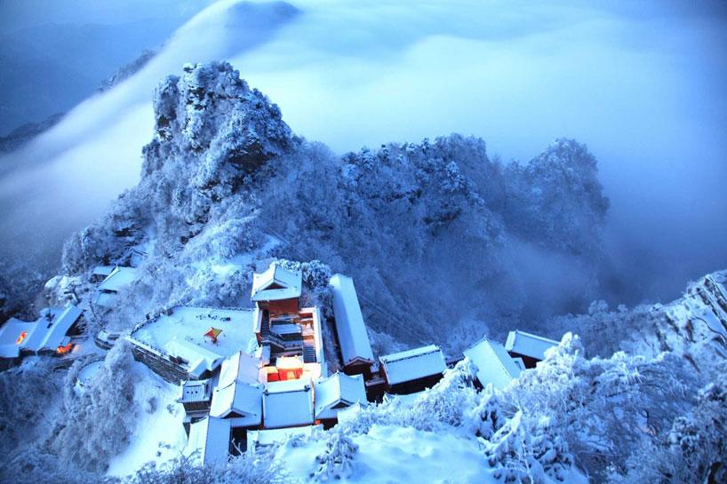 Las montañas taoístas Wudang