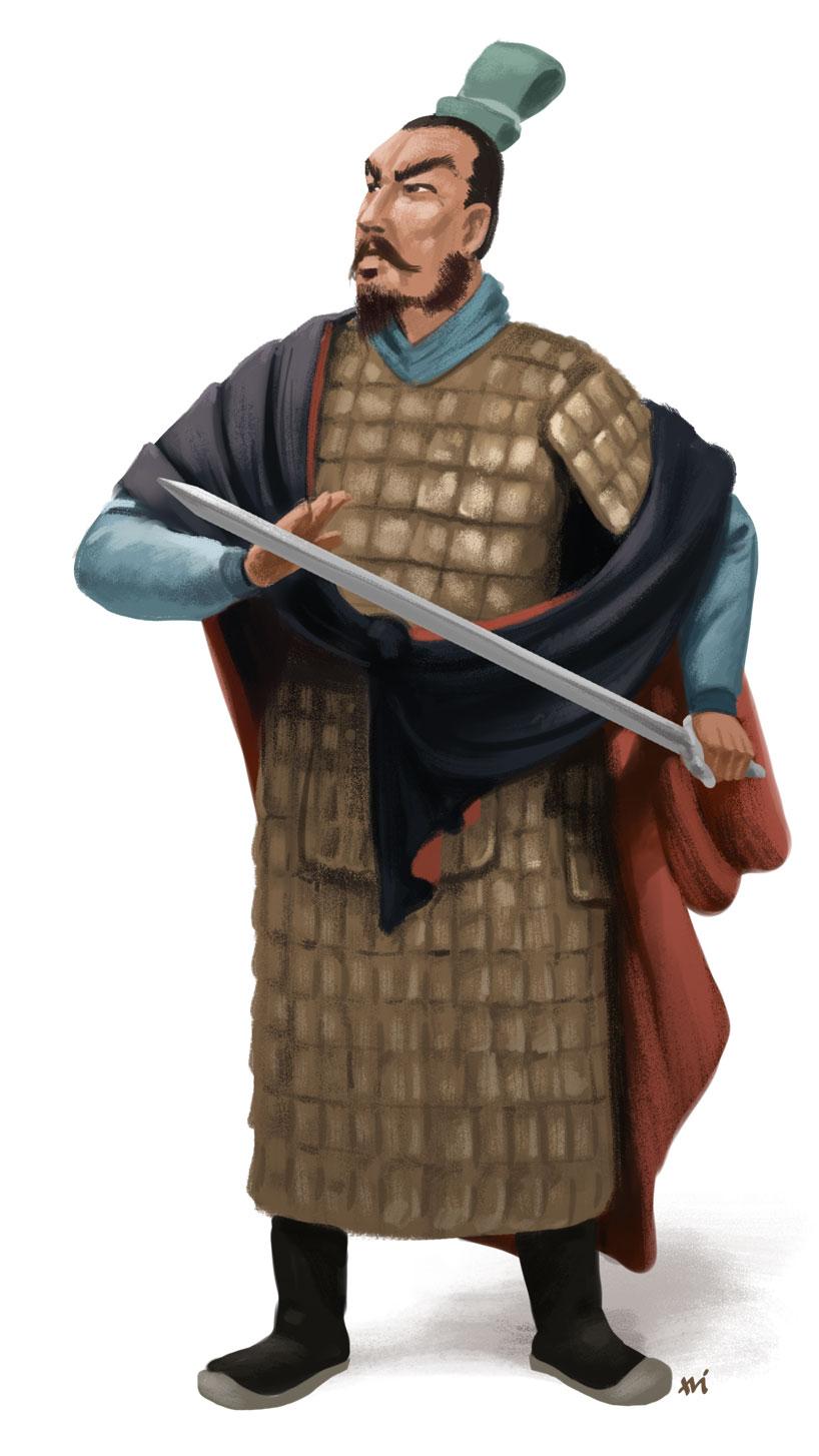 Los caballeros errantes en la antigua China