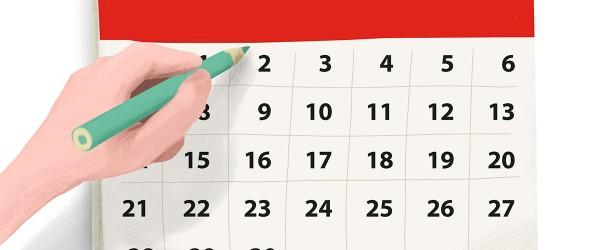 Calendario en China