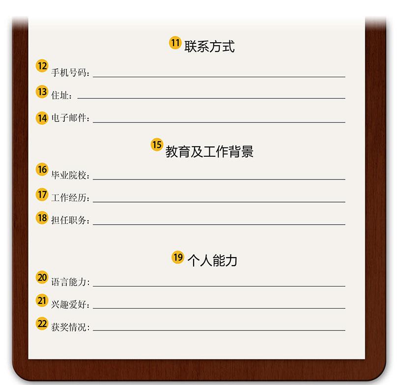 Vocabulario 7: Curriculum vitae en chino - ConfucioMag