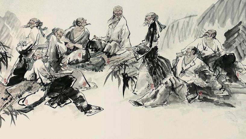 Los ocho excéntricos de Yangzhou