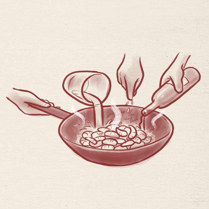 Gambas de Longjing